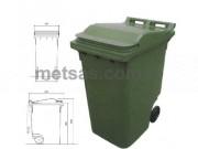 Plastik Çöp Konteyneri 360LT