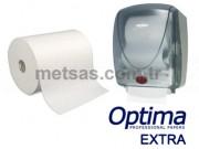 Optima Extra Motion-Roll Fotoselli Havlu Çift Kat 25cm 150mt 6'lı Koli