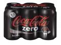 Coca Cola Zero Kutu 330ml  24'lü Koli