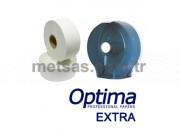 Optima Extra Mini Jumbo Tuvalet Kağıdı Çift Kat 105mt 12'li Koli