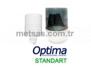 Optima Standart Ortadan Çekme Havlu Çift Kat 400ypr 6'lı Koli