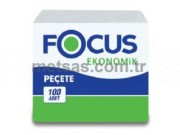 Focus Ekonomik Peçete 24 x 27cm 100'lü pk