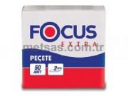 Focus Extra Peçete Çift Kat 30 x 30cm 50'li pk