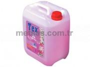 Tex Sıvı Sabun Pembe pH:5.5 Sedefli 5kg